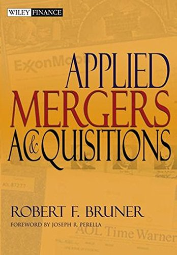 Applied Mergers and Acquisitions (Wiley Finance Series)