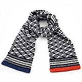 Double Graphic Scarf by Quinton & Chadwick