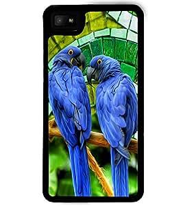 PrintVisa Plastic Multicolor Back Cover For Blackberry Z10