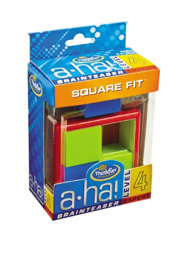 A-ha! Square Fit Brainteasers - 1