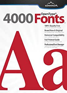 4000 Fonts [Download]