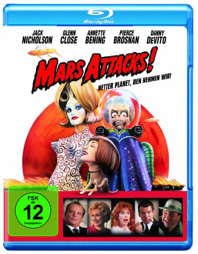 Mars Attacks [Blu-ray]