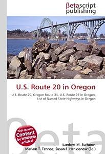 U.S. Route 20 in Oregon: U.S. Route 20, Oregon Route 34, U
