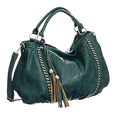 Melie Bianco Miley Shoulder Handbag (Peacock)