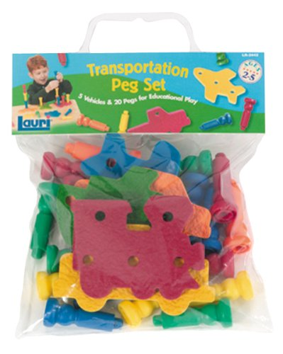 Cheap Lauri Lauri Toys Transportation Peg Set (B0007LQGUA)