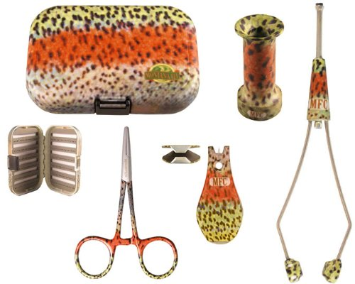 Fly Fishing Accessories Kit - Rainbow Trout Large