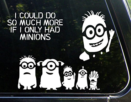 Minion Gift Set Of 3 Decals - Minion Family 9