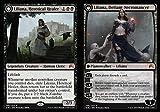 Magic: the Gathering - Liliana, Heretical Healer // Liliana, Defiant Necromancer (106/272) - Origins