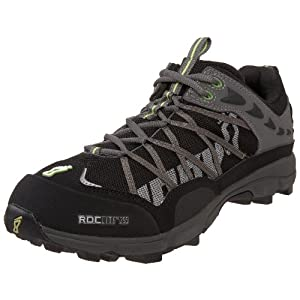 Inov-8 Men's Roclite 295 Trail Running Shoe, Black/Lime, 2