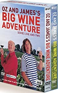 Oz and James's Big Wine Adventure: Complete BBC Series 1 & 2 Box Set [DVD]