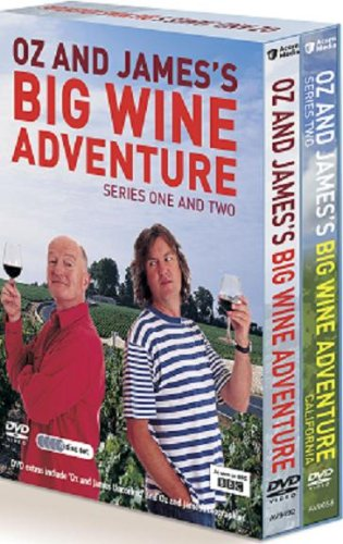 Oz and James's Big Wine Adventure: Complete BBC Series 1 & 2 Box Set [DVD] [2006]
