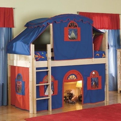 Boys Tent Bed front-43203
