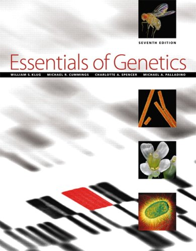 Essentials of Genetics (7th Edition)
