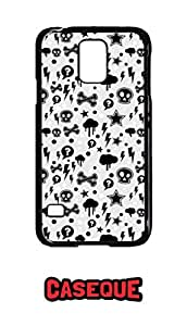 Caseque Danger! Art Back Shell Case Cover for Samsung Galaxy S5