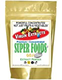 Virgin Extracts (TM) Pure Premium Freeze Dried Organic Goji Berry Powder 4:1 Concentrate Juice Extract Goji Powder (4 X Stronger) 16oz Pouch