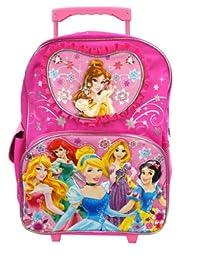 Rolling Backpack - Disney - Princess - Pink Floral (16\