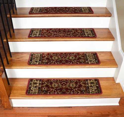 Halton carpet stair treads 9 inch x 29 inch use indoor for Jardin stair treads