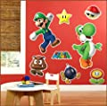 Birthday Express - Super Mario Party Giant Wall Decals