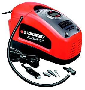 Black & Decker ASI300 Kompressor, 11 bar / 160 psi