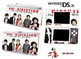 ONE DIRECTION 1D DESIGN Nintendo Ds Lite Console Vinyl Skin STICKER Cover In a Retail Pack. Order Before 4pm and ill post the same day by Fast 1st Class UK Post.