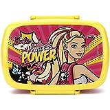 Mattel Barbie Princess Power Plastic Lunch Box, 500ml, Multicolour