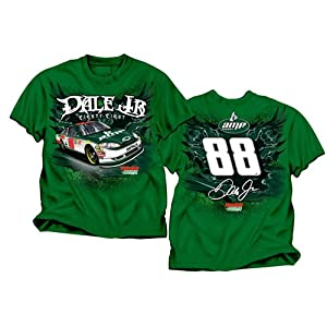 #88 Dale Earnhardt Jr AMP Youth Dark Green Groove Tee Shirt -P9230 by Brickels
