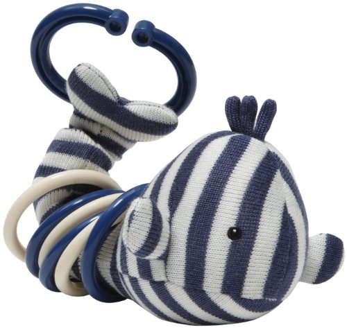 """Jellycat® Walter Clicketty Whale - 4"""" front-821800"""