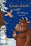 The Gruffalo Happy Christmas Grandson Card - 2014 Design