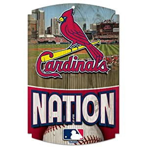 MLB St. Louis Cardinals Wood Signs