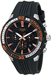 Pulsar Men's PT3513 On The Go Analog Display Japanese Quartz Black Watch