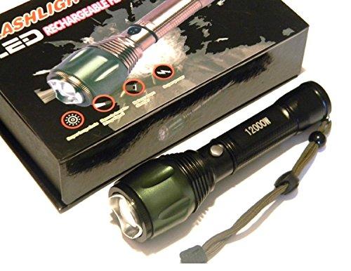 T6061 Lampe Torche Rechargeable A Led Ultra Puissante D Une
