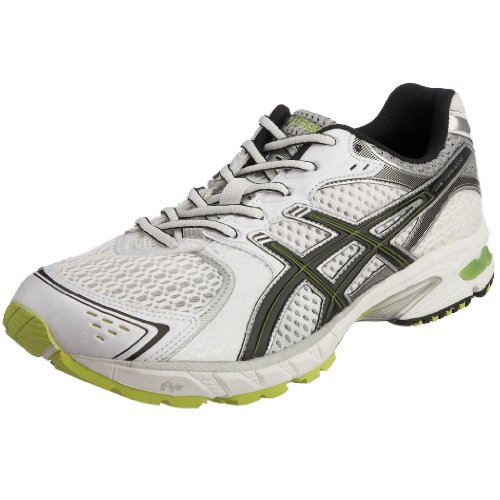 Asics Men's Gel DS Trainer 15 Running Shoe White/Platinum/Royal T014N0190 13 UK