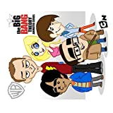 The Big Bang Theory Poster Mouse Pads Customized Rectangle Mousepad
