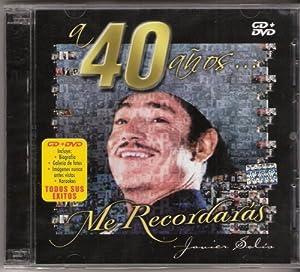 A 40 Anos Me Recordaras Javier Solis[cd/dvd][karaoke] 25-cansiones =5 Videos-karaoke -5 Para Cantar..