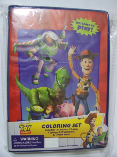 Disney Toy Story 3 Coloring Set