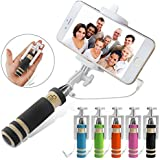 Selfie Stick, Aux Selfie Stick With In-built Button For Nexus 5x/Nexus 6P/ IPhone 6S/6S Plus/6/6 Plus/5S, Galaxy Note 5/S6 Edge Plus & More.