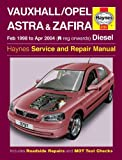 Haynes Owners + Workshop Car Manual Vauxhall Astra & Zaf Petrol + Diesel 3797