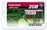 Transcend 2GB JETRAM 200pin DDR2 667 SO-DIMM ノートブック用 JM667QSU-2G