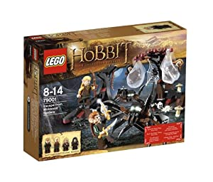 LEGO The Hobbit 79001: Escape from Mirkwood Spiders