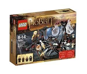 Lego The Hobbit - 79001 - Jeu de Construction - Les Araignées de la Forêt de Mirkwood