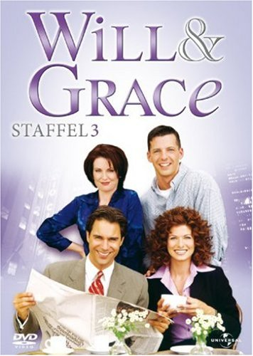 Will & Grace - Staffel 3 [4 DVDs]