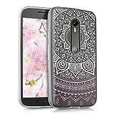 kwmobile Crystal Case Hülle für Motorola Moto G (3.