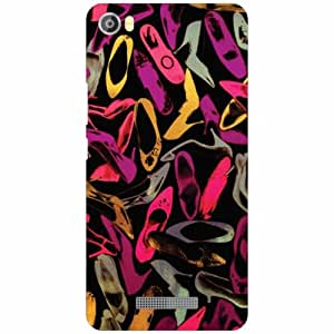 Lava Iris X8 Back Cover - Silicon Art Designer Cases