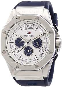 Tommy Hilfiger Watches Herren-Armbanduhr XL Analog Quarz Silikon 1790914
