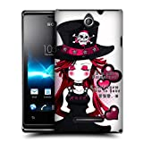 Head Case Lady Punk Collection Hard Back Case For Sony Xperia E Dual C1605 C1505