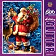 Woodland Santa 500 pc Holiday Glitter