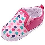 EOZY Zapatos Para Beb� Unisex Corazones Paso Andar Rosa Oto�o Pirmavera Longitud 12cm