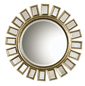 Uttermost 14076 34-Inch by 34-Inch Cyrus Mirror