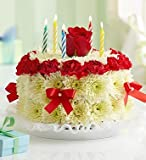 1800Flowers - Birthday Flower Cake Bright