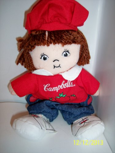 "Campbells Soup Kid Plush 7"" - 1"